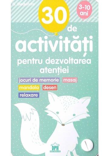 30 de Activitati pentru dezvoltarea atentiei