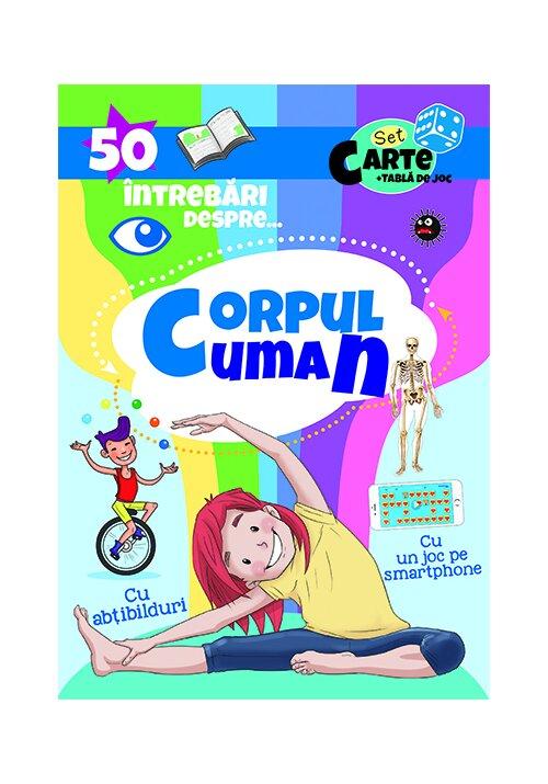 50 Intrebari despre ... Corpul Uman ( cu abtibilduri)