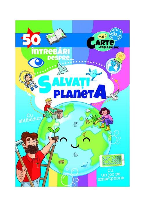 50 Intrebari despre ... Salvati Planeta ( cu abtibilduri)