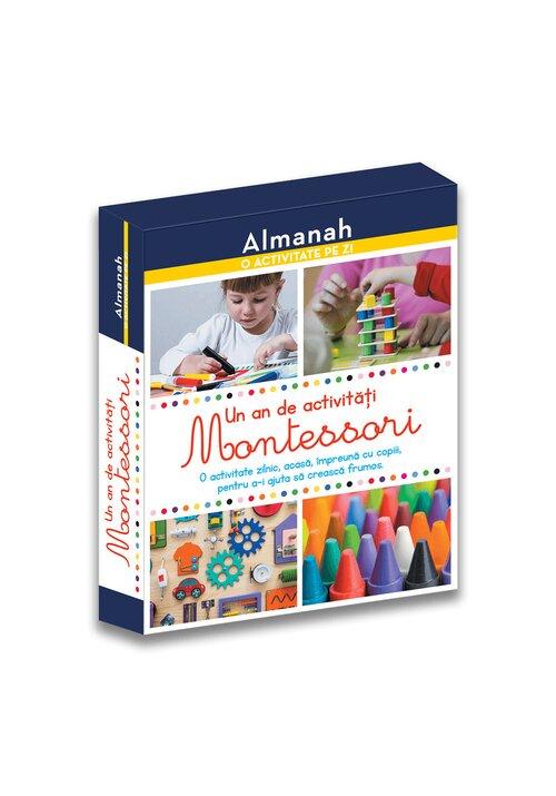 Almanah - O activitate pe zi: Un an de activitati Montessori