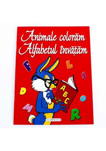Animale coloram, Alfabetul invatam