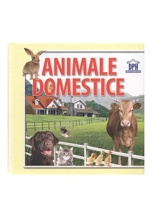 Animale domestice - Carte pliata