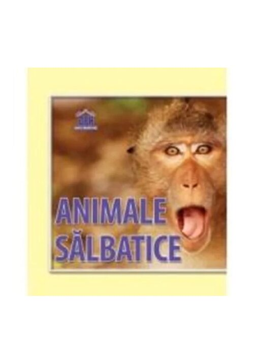 Animale salbatice - Carte pliata