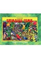 Animalele lumii carte-puzzle