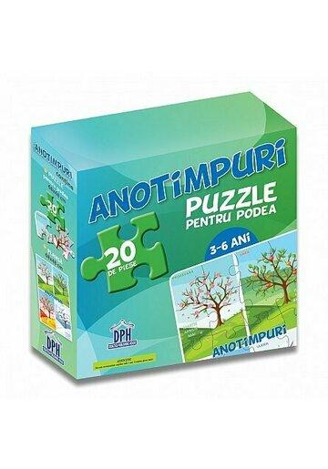 ANOTIMPURI - (puzzle podea 50/70 + afis 50/70)