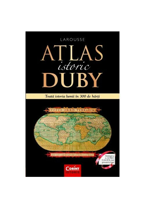 Atlas istoric Duby imagine librex.ro 2021