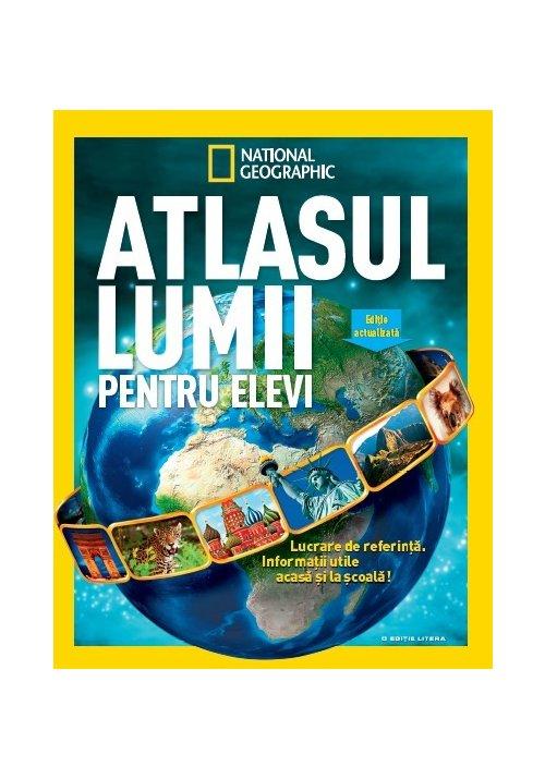 Atlasul lumii pentru elevi National Geographic imagine librex.ro 2021
