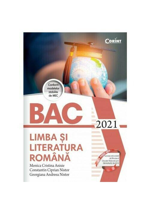Bacalaureat 2021 - Limba si literatura romana