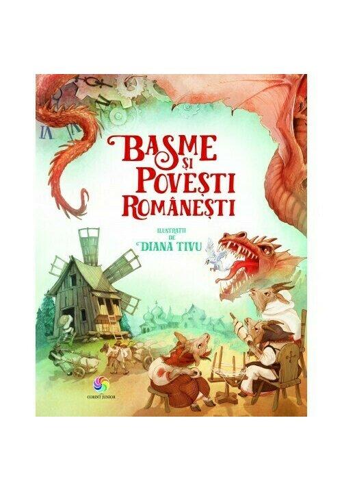 Basme si povesti romanesti imagine librex.ro 2021