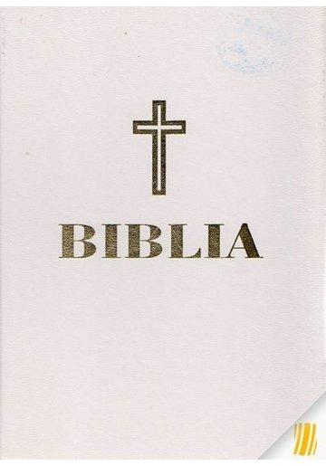 Biblia fomat mijlociu (alba-aurie)