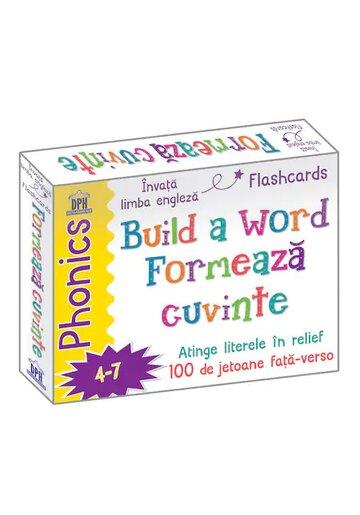 Build a word - Formeaza cuvinte - Jetoane Limba Engleza