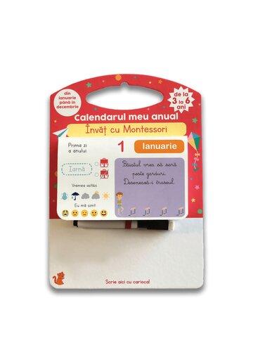 Calendarul meu anual: Invat cu Montessori - de la 3 la 6 ani