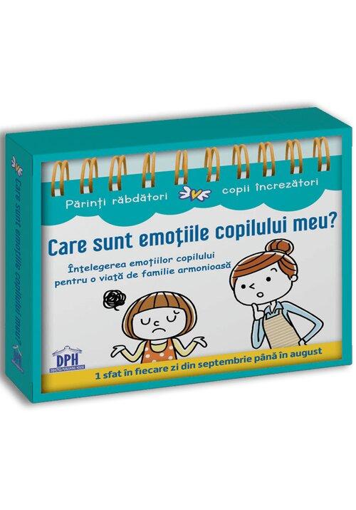 Care sunt emotiile copilului meu? (Calendar)