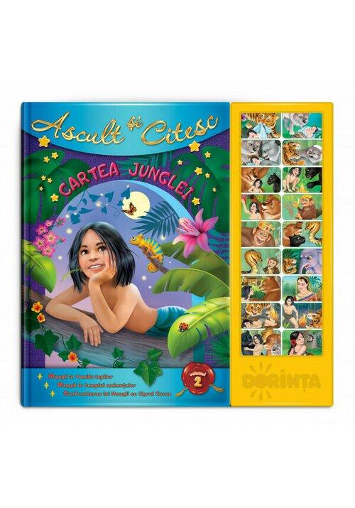 Carte cu sunete - Cartea Junglei