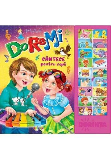 Carte cu sunete - Do-Re-Mi (cantece pentru copii)