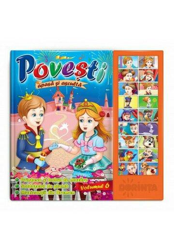 Carte cu sunete - Povesti (Vol. 6)