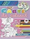 Carte de colorat pentru fetite (mov)