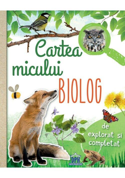 Cartea micului biolog imagine librex.ro 2021