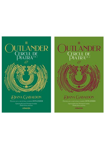 Cercul de piatra. Set 2 volume. Seria Outlander, partea a III-a