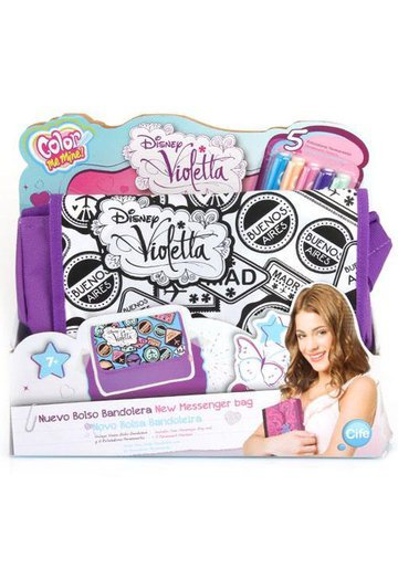 Color Me Mine Messenger Bag Violetta