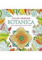 Color Origami: Botanica (Adult Coloring Book)