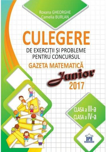 Culegere pentru concursul Gazeta Matematica Junior - Clasele III-IV