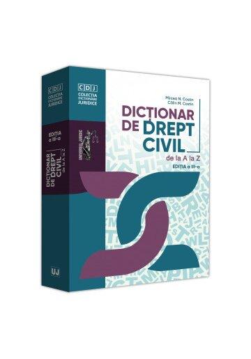 Dictionar de drept civil de la A la Z, editia a III-a