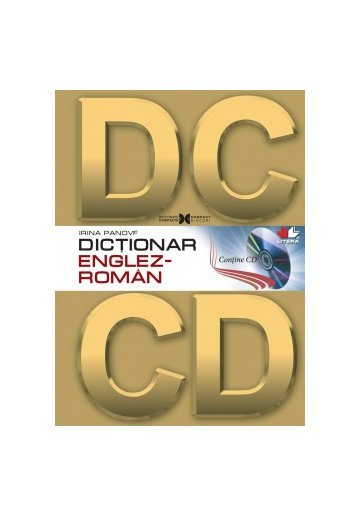 Dictionar englez- roman cu cd-rom