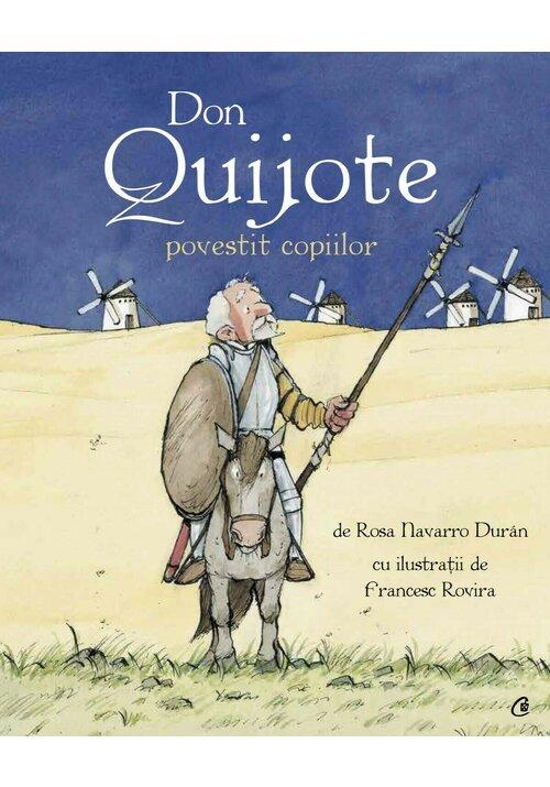 Don Quijote povestit copiilor imagine librex.ro 2021