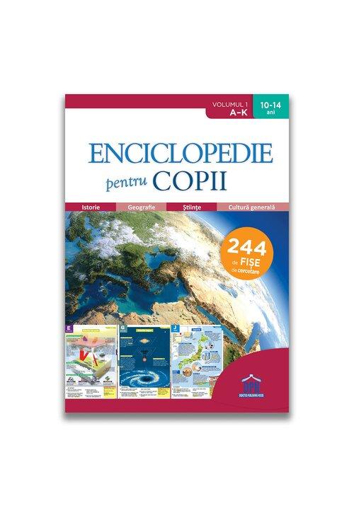 Enciclopedie pentru copii - Volumul 1 - De la A la K imagine librex.ro 2021