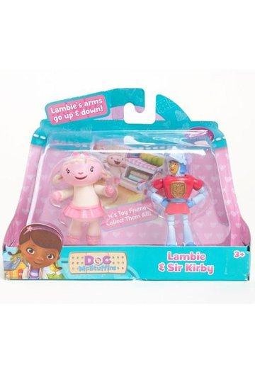 Figurine Lambie and Sir Kirby
