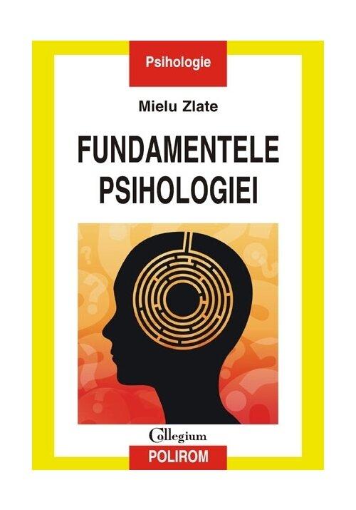Fundamentele psihologie imagine