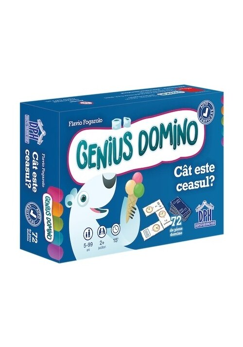 Genius domino: Cat este ceasul?