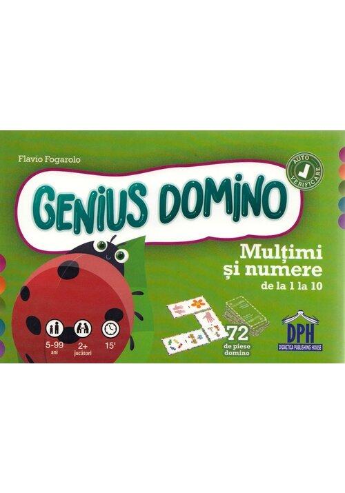 Genius Domino. Multimi si numere de la 1 la 10 imagine librex.ro 2021