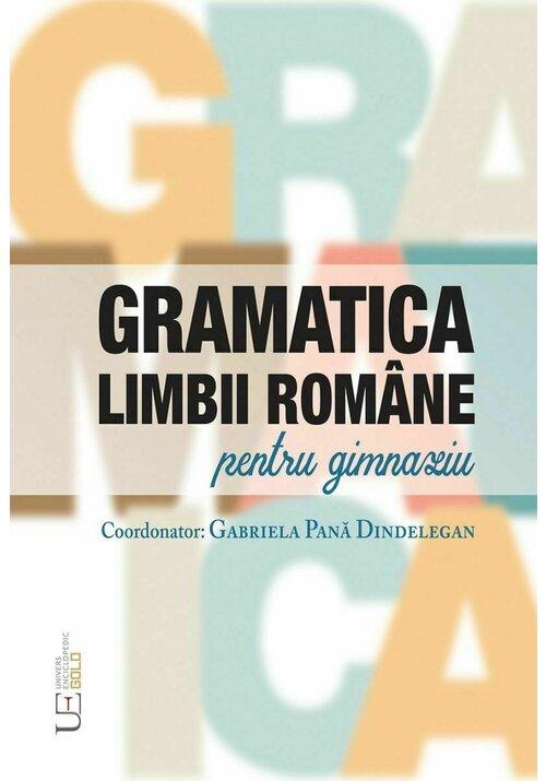 Gramatica limbii romane pentru gimnaziu