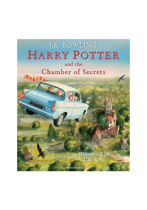 Harry Potter and the Chamber of Secrets Illustrated Edition imagine librex.ro 2021