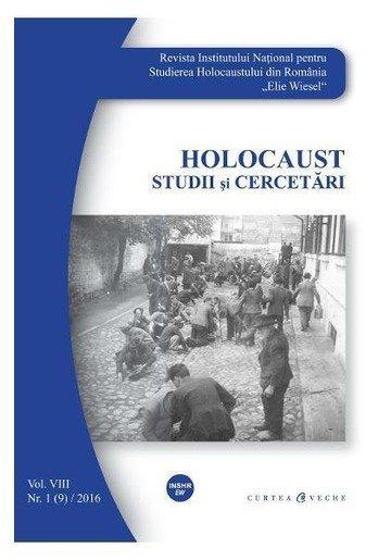Holocaust Nr.1 2016 Studii si cercetari