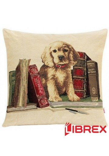 Husa perna Dog & Books
