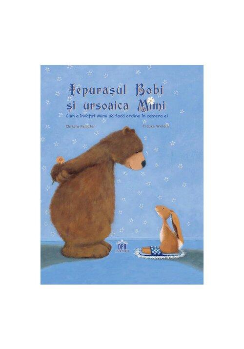 Iepurasul Bobi si ursoaica Mimi imagine librex.ro 2021