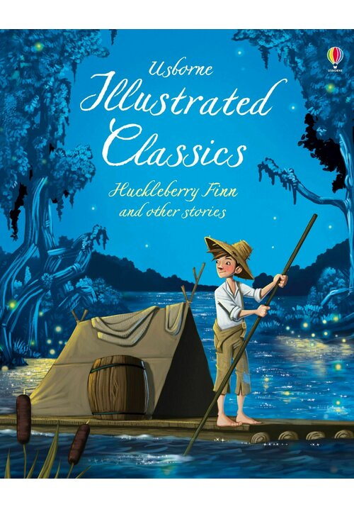 Illustrated Classics Huckleberry Finn & Other Stories imagine librex.ro 2021