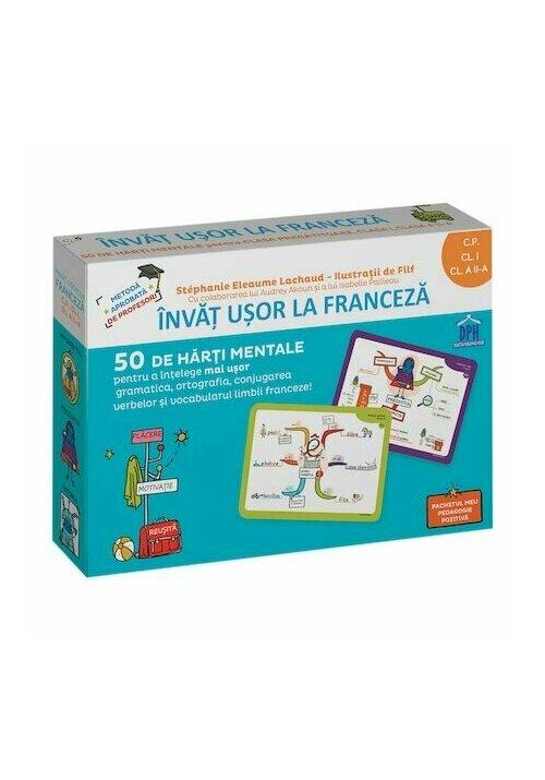 Invat usor la franceza - 50 de harti mentale
