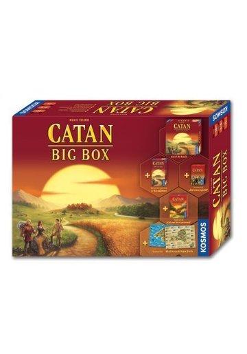 Joc de societate Kosmos, Catan Big Box, jocul de baza cu 4 scenarii noi si extensie 5-6 jucatori