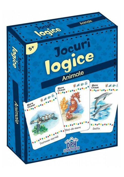 Jocuri logice - Animale imagine librex.ro 2021
