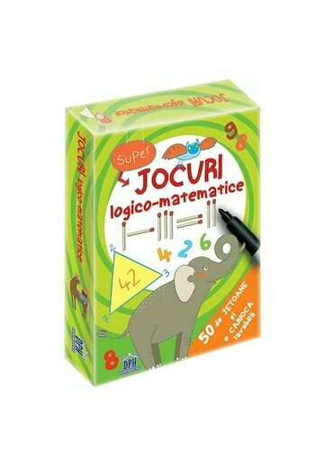 Jocuri logico-matematice - 50 de jetoane