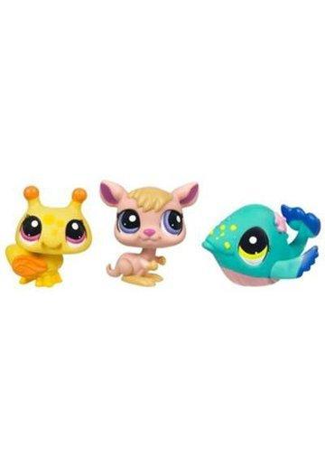 Littlest Pet Shop - Pachet de 3 Figurine