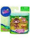 Littlest PetShop Mama si Bebelusul Maimuta