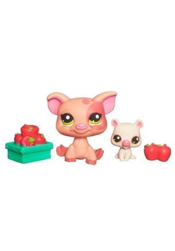 Littlest PetShop Mama si Bebelusul Purcelus