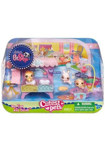 Littlest PetShop - Nap Time with Babies