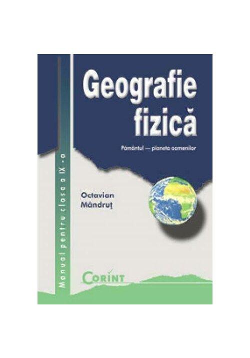 Manual pentru clasa a IX-a - Geografie