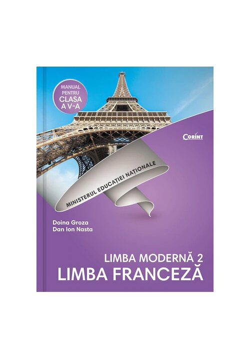 Manual pentru clasa a V-a - Limba Moderna L2 / Limba Franceza + Cd